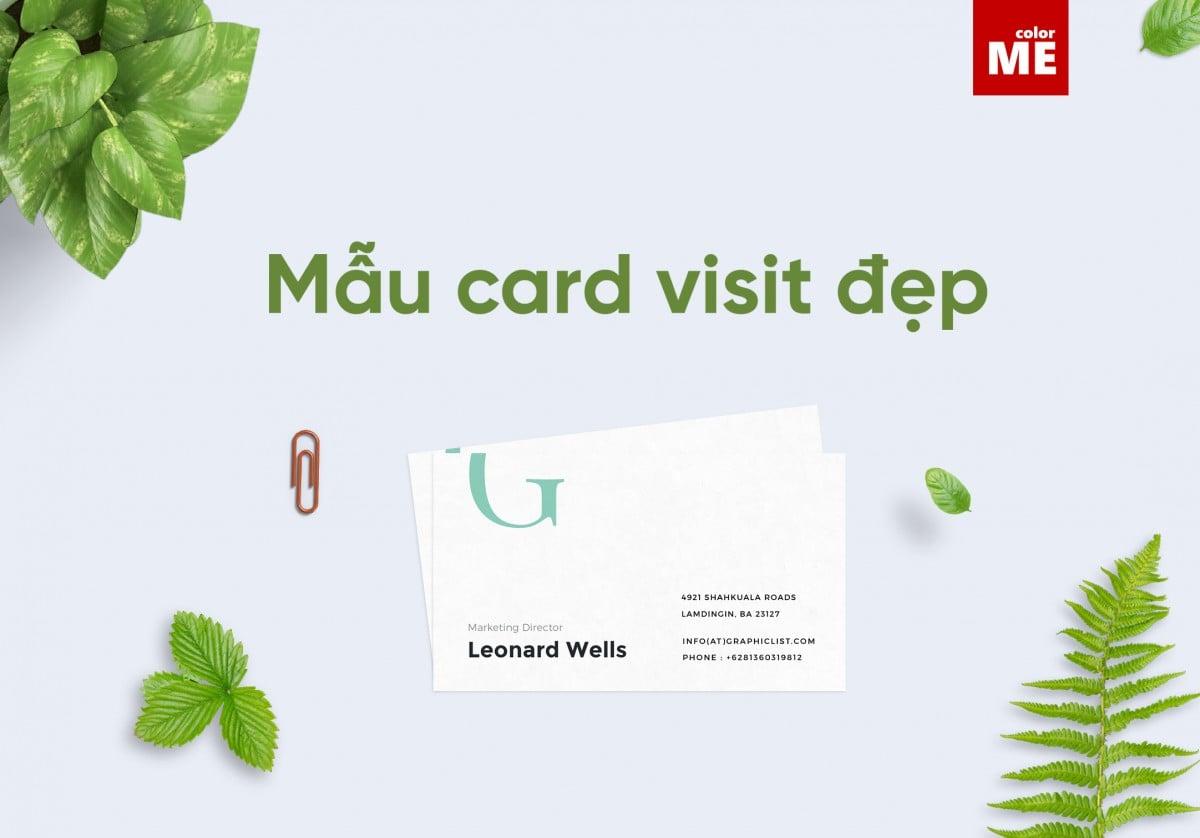 Lợi ích của card visit mang lại trong kinh doanh - Hình ảnh được chụp bởi NamVietAd.Com