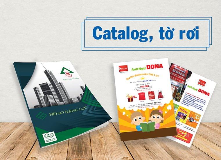 Xưởng in tờ rơi quảng cáo - Hình ảnh được chụp bởi NamVietAd.Com