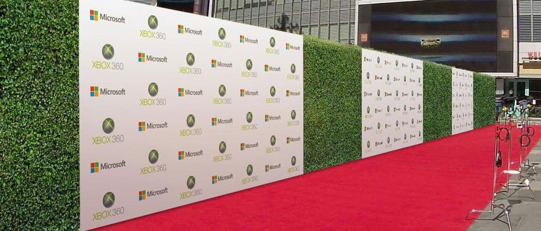 In backdrop triển lãm - Hình ảnh được chụp bởi NamVietAd.Com