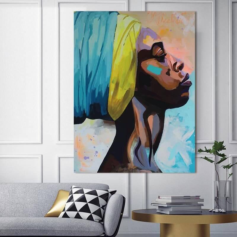 Canvas là chất liệu in phổ biến - Hình ảnh được chụp bởi NamVietAd.Com