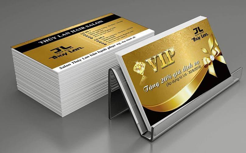 In danh thiếp chất lượng cho doanh nghiệp - Hình ảnh được chụp bởi NamVietAd.Com
