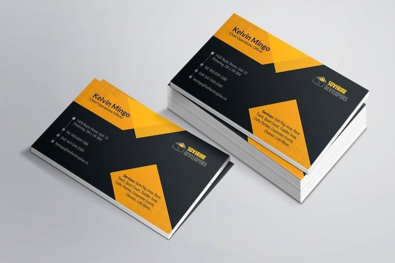 In card visit lấy liền - Hình ảnh được chụp bởi NamVietAd.Com