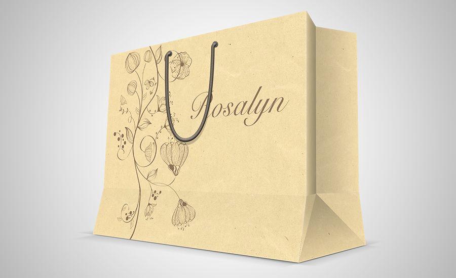 In túi giấy cho shop bán hàng - Hình ảnh được chụp bởi NamVietAd.Com