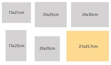Kích thước Catalogue
