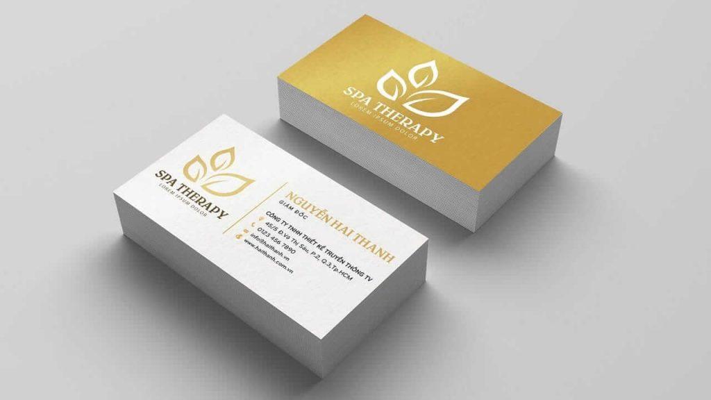 Danh thiếp là chìa khóa để mở ra thành công dành cho bạn - Hình ảnh được chụp bởi NamVietAd.Com