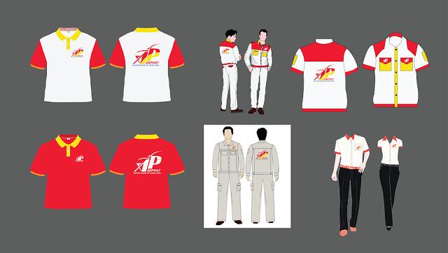 In đồng phục công ty - Hình ảnh được chụp bởi NamVietAd.Com