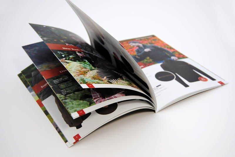 Công nghệ in catalogue hiện đại - Hình ảnh được chụp bởi NamVietAd.Com