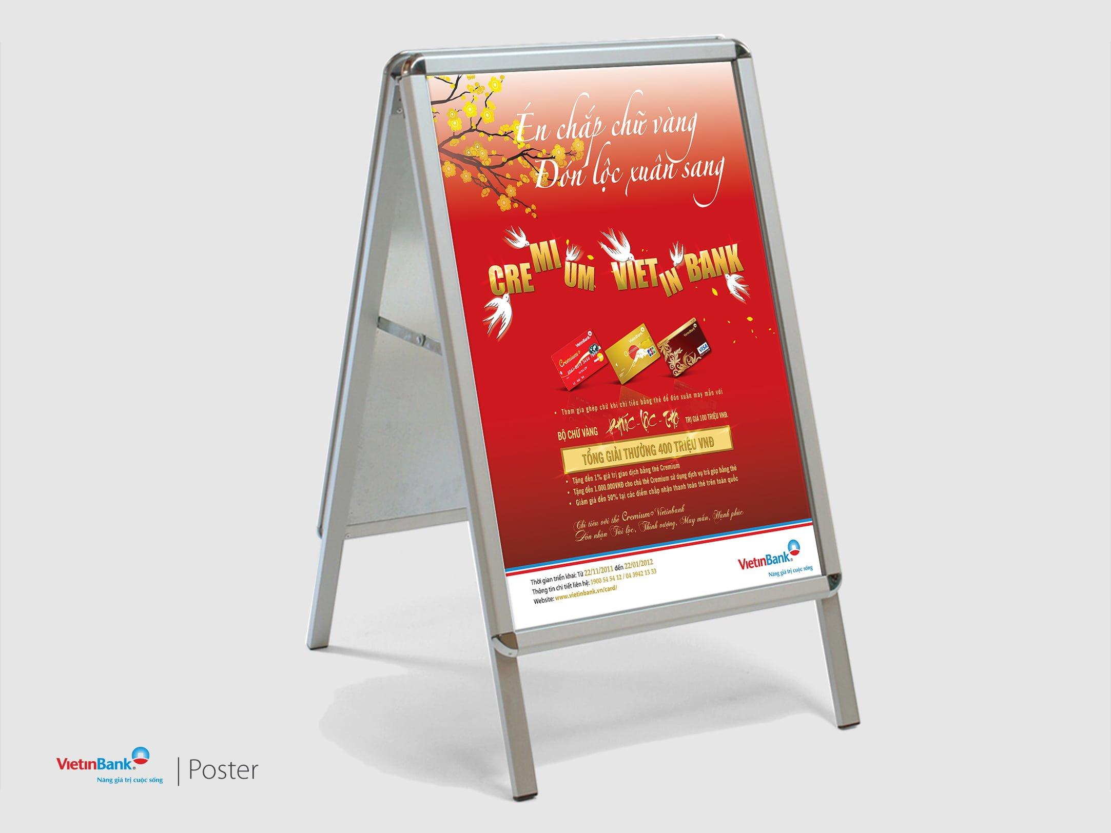 Poster mang đến rất nhiều lợi ích cho các doanh nghiệp – Hình ảnh được chụp bởi NamVietAd.Com