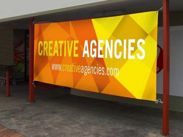 Banner dùng trong quảng cáo ngoài trời