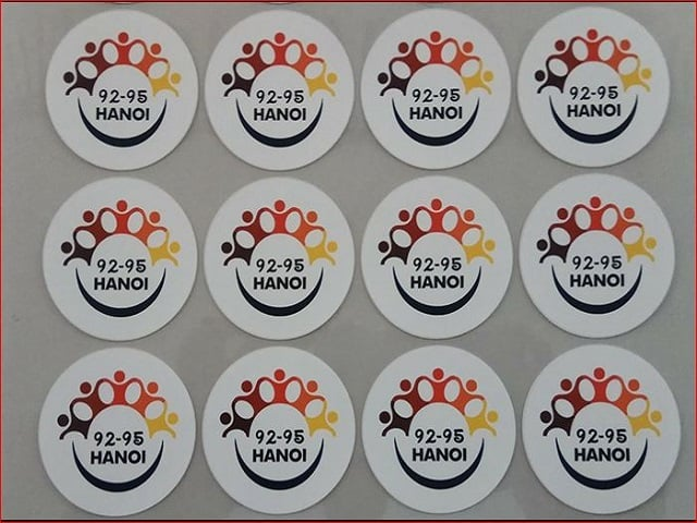 Địa chỉ in sticker giá rẻ uy tín chất lượng - Hình ảnh được chụp bởi NamVietAd.Com