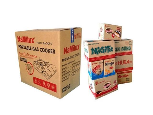 Xưởng in thùng carton giá rẻ chất lượng - Hình ảnh được chụp bởi NamVietAd.Com