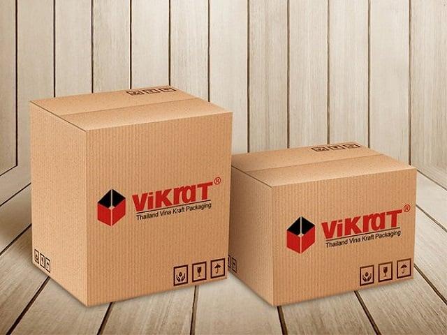 Lựa chọn độ dày của chất liệu làm thùng carton - Hình ảnh được chụp bởi NamVietAd.Com