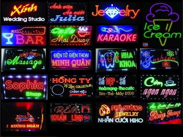 Quy trình Làm bảng hiệu LED và vai trò của bảng hiệu trong quảng cáo