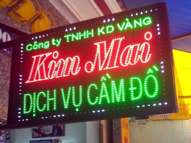 Vai trò cốt lõi của bảng hiệu Led – Hình ảnh được chụp bởi NamVietAd.Com