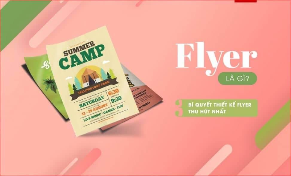 In Flyer và những yếu tố cần xác định trước khi in ấn Flyer - Hình ảnh được chụp bởi NamVietAd.Com