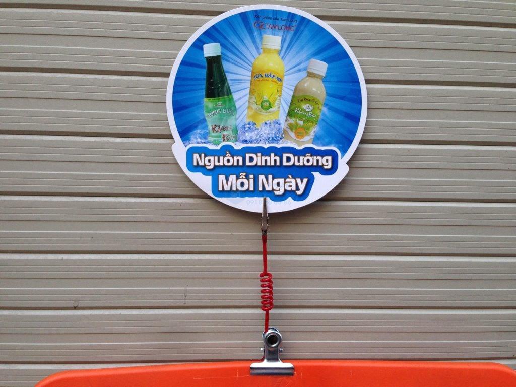 Địa chỉ cung cấp dịch vụ in wobbler - Hình ảnh được chụp bởi NamVietAd.Com