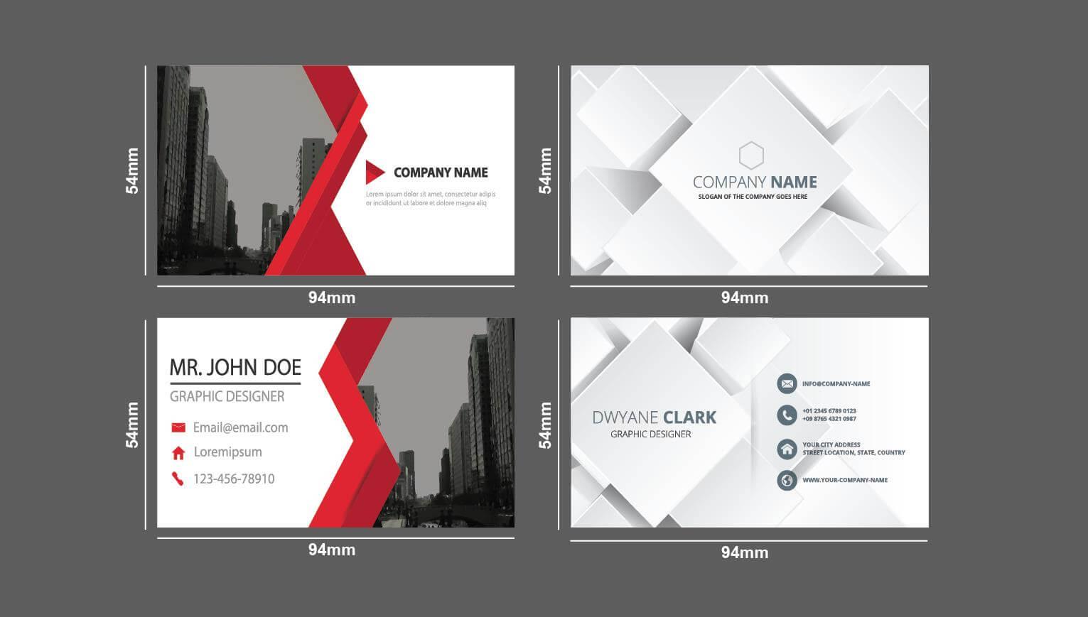 Name card có thiết kế đẹp, kích thước vừa vặn – Hình ảnh được chụp bởi NamVietAd.Com