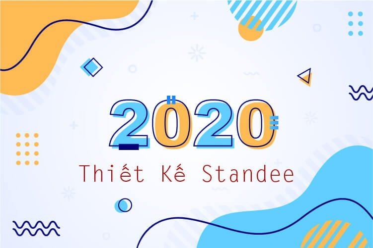 thiết kế standee