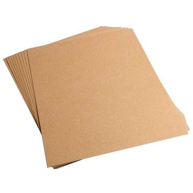 Giấy Kraft là loại giấy tái chế – Hình ảnh được chụp bởi NamVietAd.Com