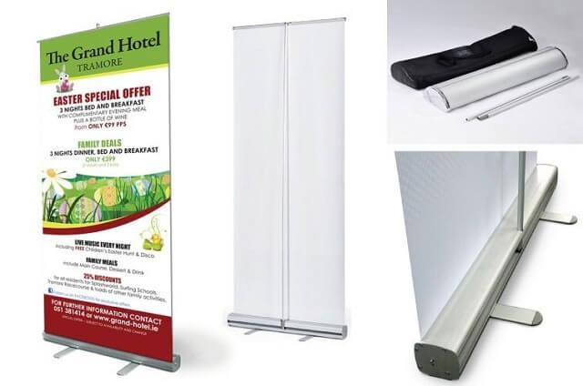 Standee X Nhôm Cao Cấp 60x160cm là lựa chọn thông dụng trong ngành quảng cáo.