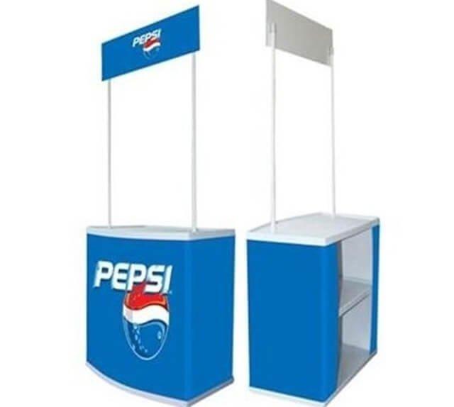 Booth bán hàng di động cao cấp hiện nay