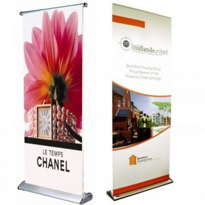 standee cuốn hào hoa 1 mặt cao cấp
