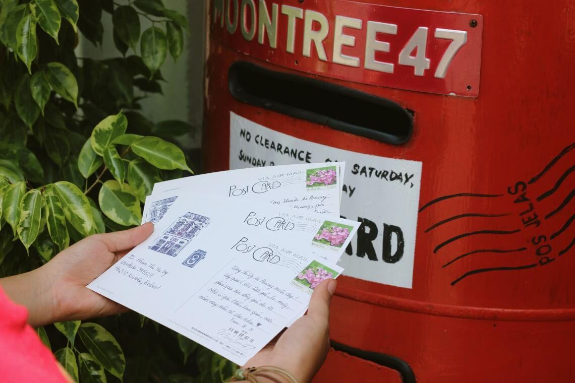 Postcard là gì - Hình ảnh được chụp bởi NamVietAd.Com