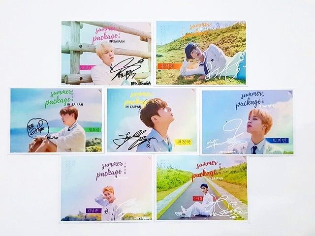 Postcard của những Oppa Hàn Quốc được các bạn trẻ vô cùng thích thú - Hình ảnh được chụp bởi NamVietAd.Com