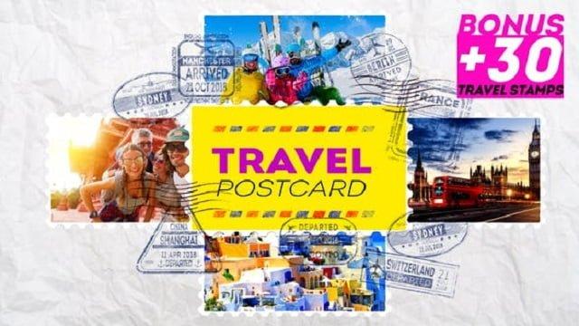 Postcard dùng để tri ân khách hàng - Hình ảnh được chụp bởi NamVietAd.Com