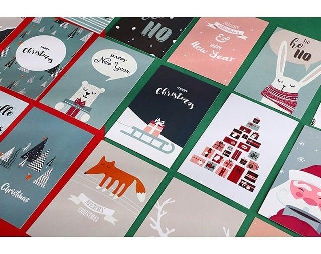 Postcard DIY dùng tặng bạn bè, người thân - Hình ảnh được chụp bởi NamVietAd.Com
