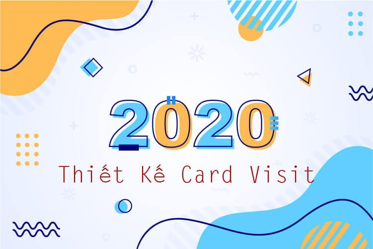 thiết kế card visit