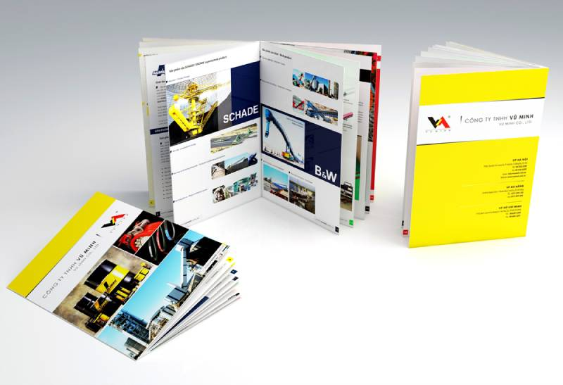 Kích thước quyển catalogue như thế nào là chuẩn