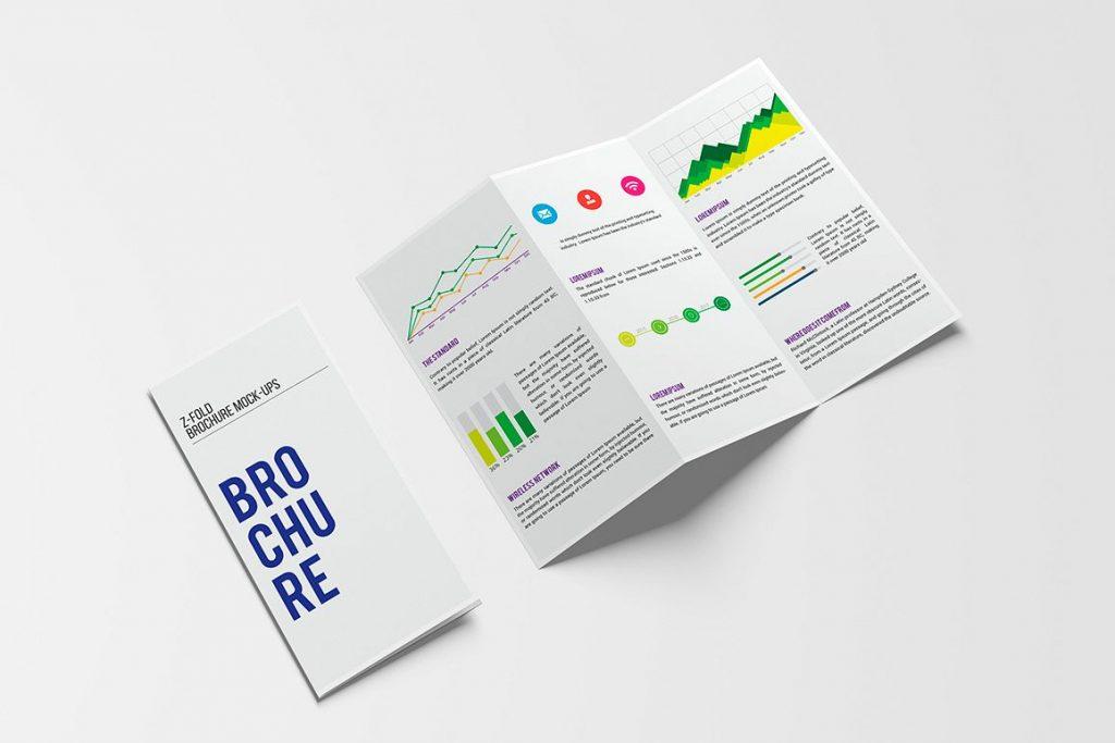 Mục đích sử dụng brochure
