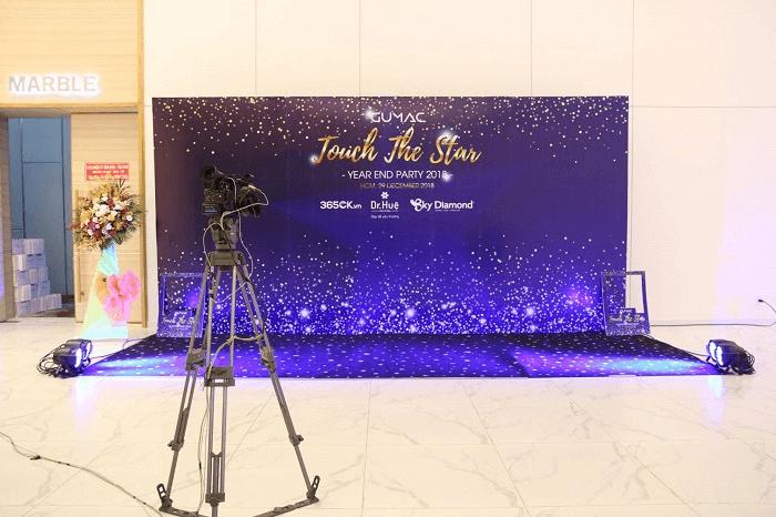 Tầm quan trọng của backdrop trong các sự kiện